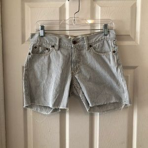 Madewell jeans short